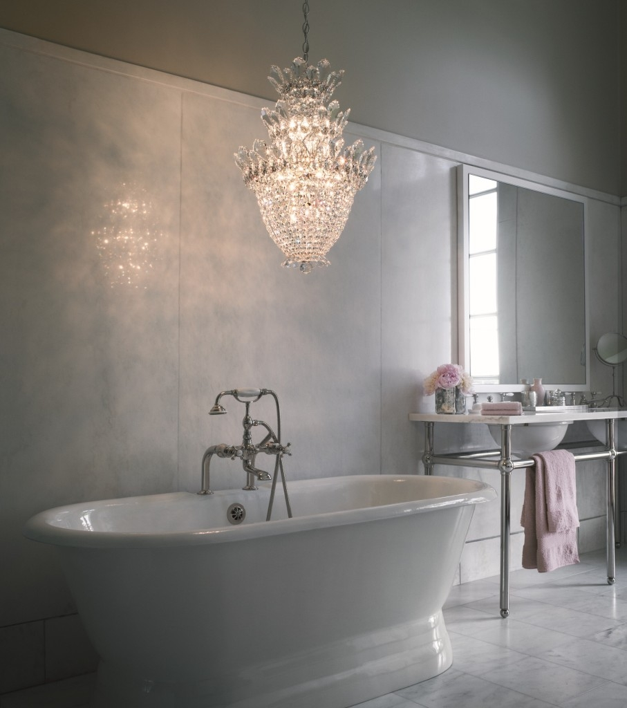 Featured Image of Bathroom Safe Chandeliers