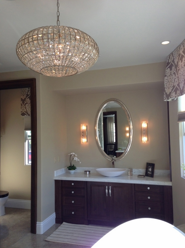 Top 25 Chandelier Bathroom Lighting Fixtures Chandelier