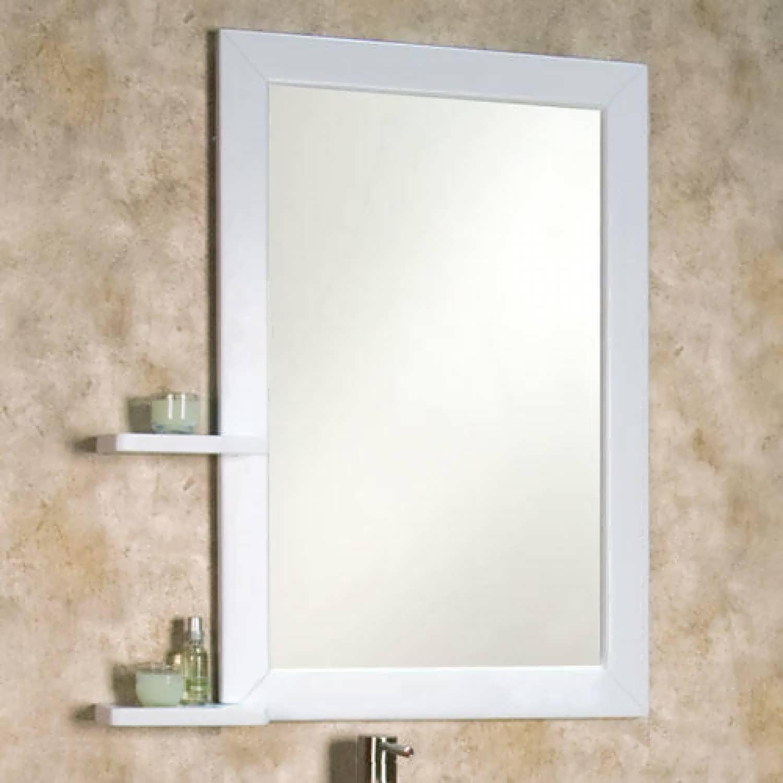 Bathroom : Corner Bathroom Mirror Narrow Mirror Bathroom Luxury For Ornate Bathroom Mirrors (Image 5 of 20)
