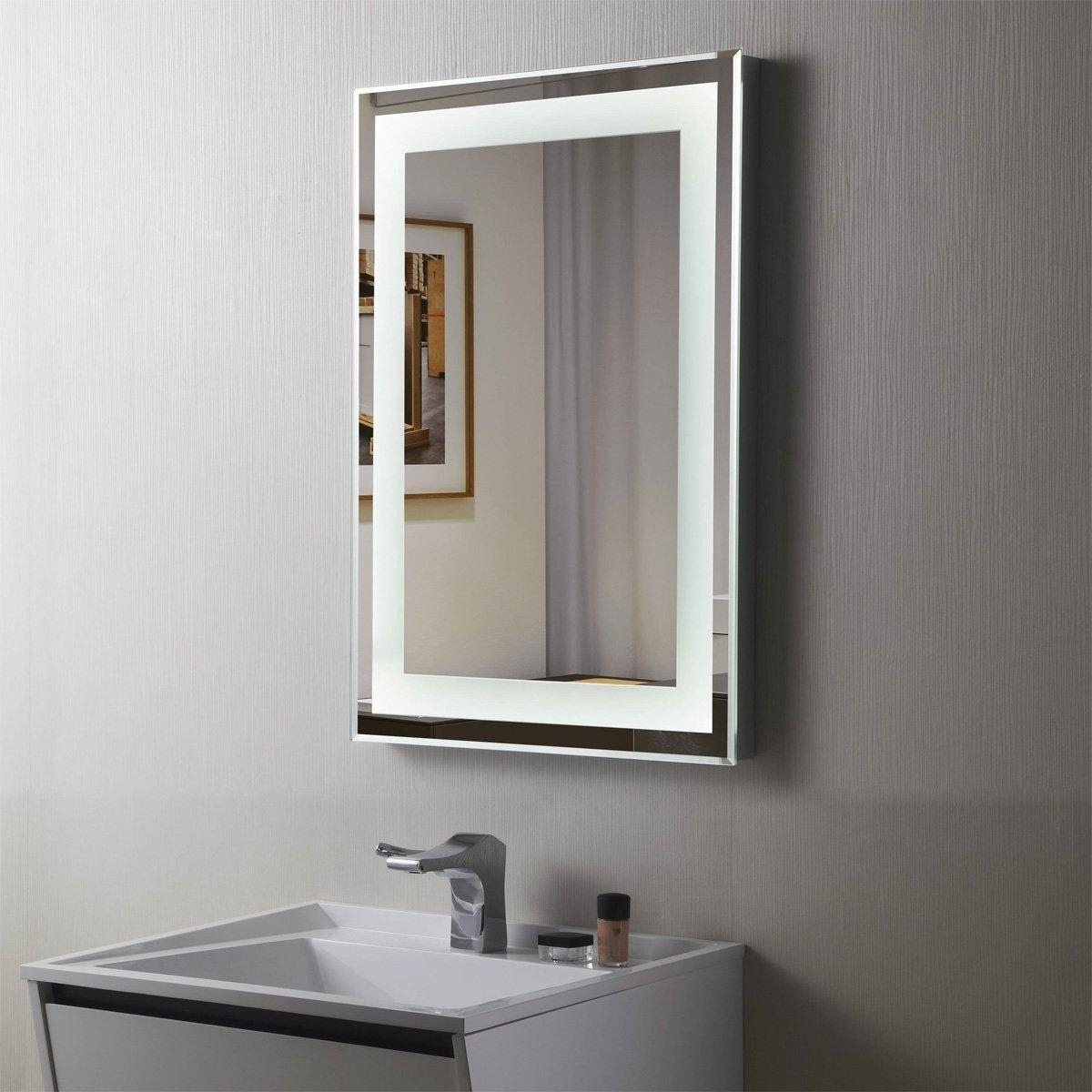 Bathroom: Elegant Bathroom Decor With Large Framed Bathroom With Huge Mirrors For Sale (Image 2 of 20)