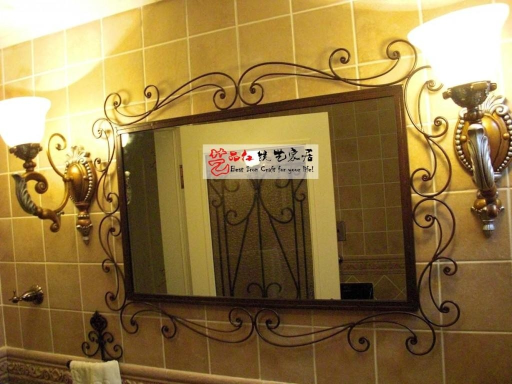 20 Best Ideas Wrought Iron Bathroom Mirrors Mirror Ideas