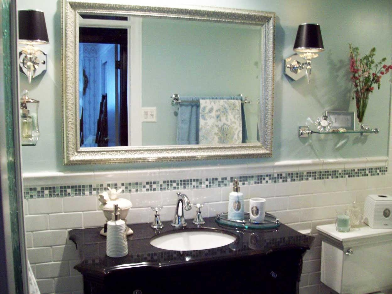 Bathroom. Exciting Bathroom Mirrors Decoration Ideas (Image 4 of 20)