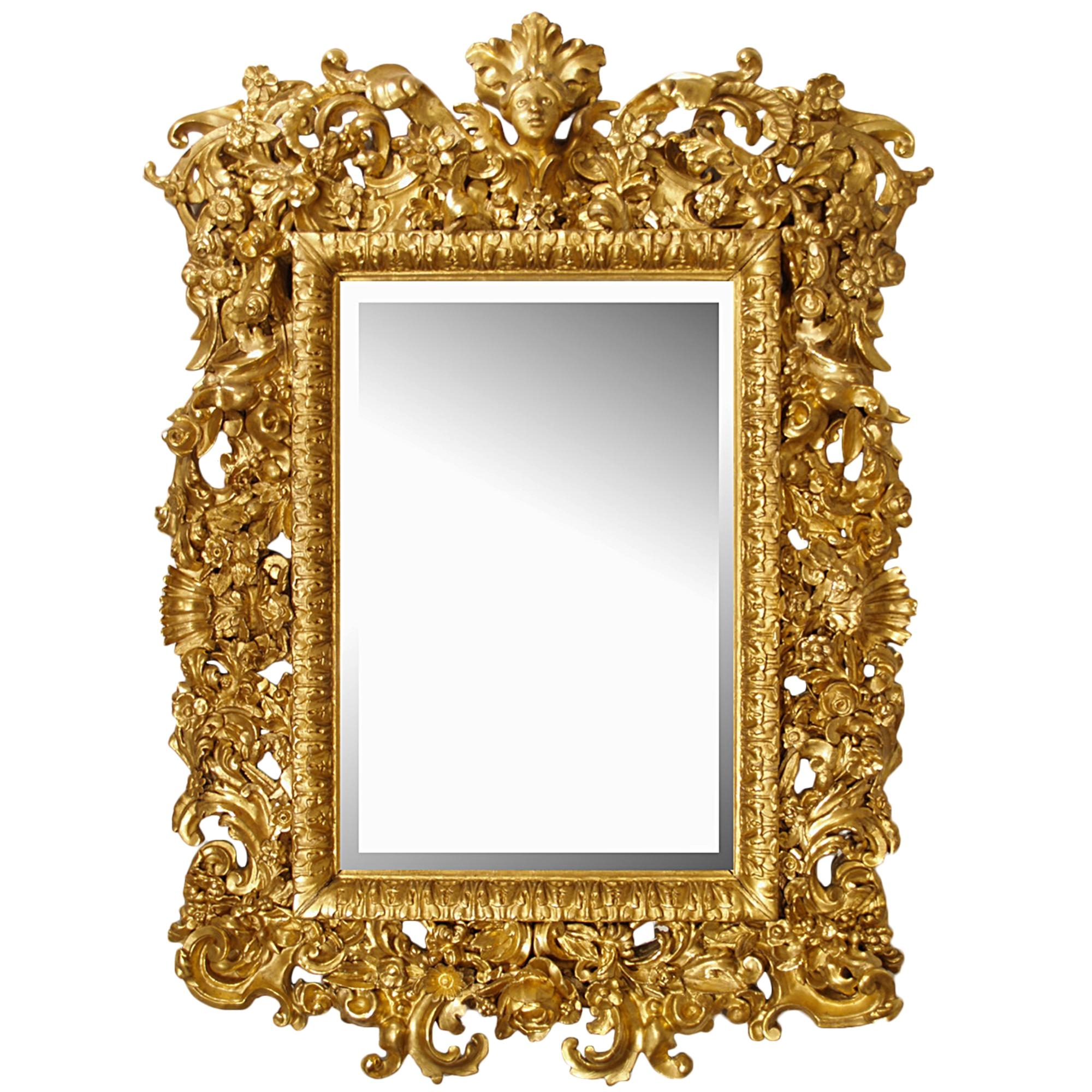 Bathroom: Gold Baroque Mirror With Unique Baroque Mirror Design Inside Baroque Mirror Gold (Image 12 of 20)