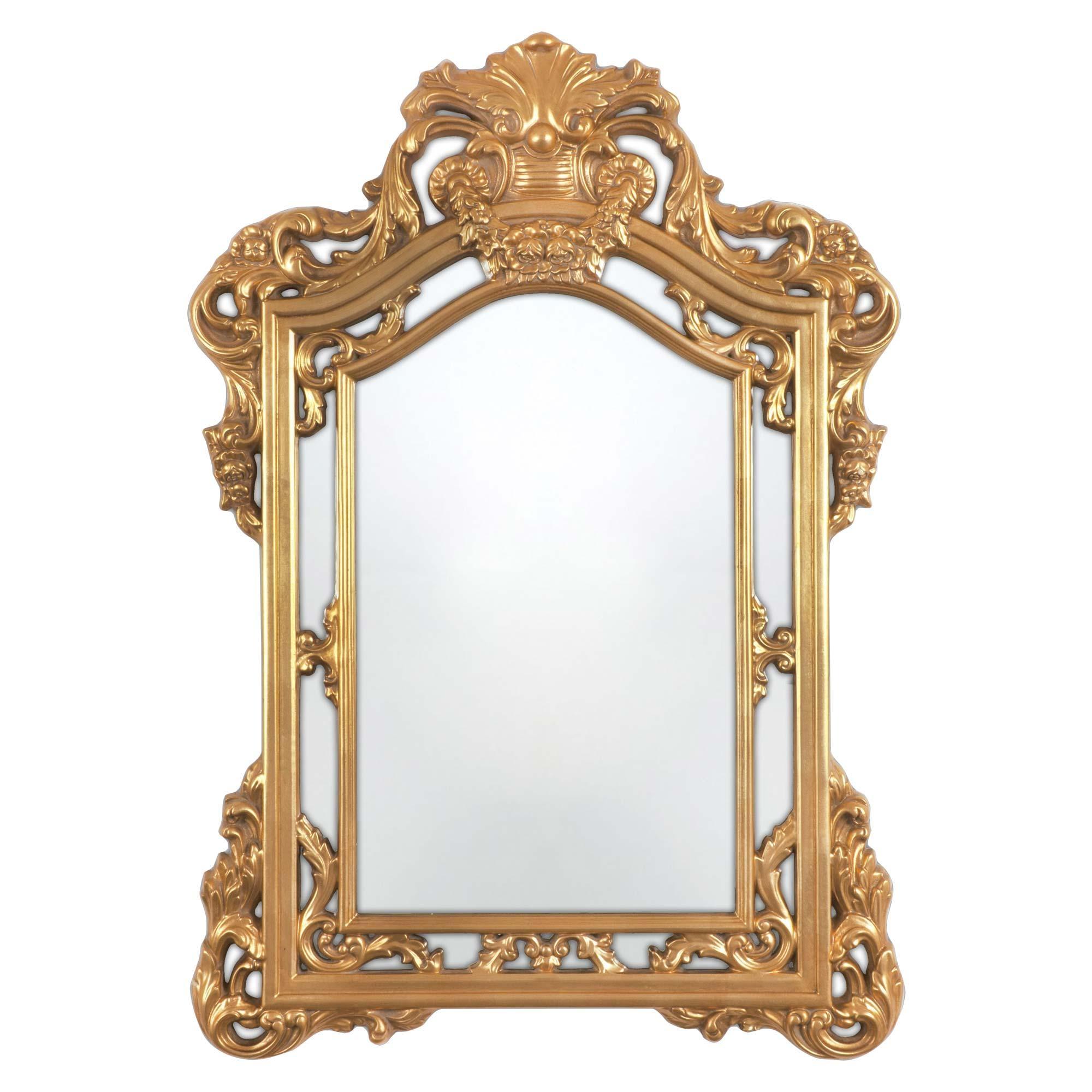 Bathroom: Gold Baroque Mirror With Unique Baroque Mirror Design Intended For Baroque Mirror Gold (View 9 of 20)