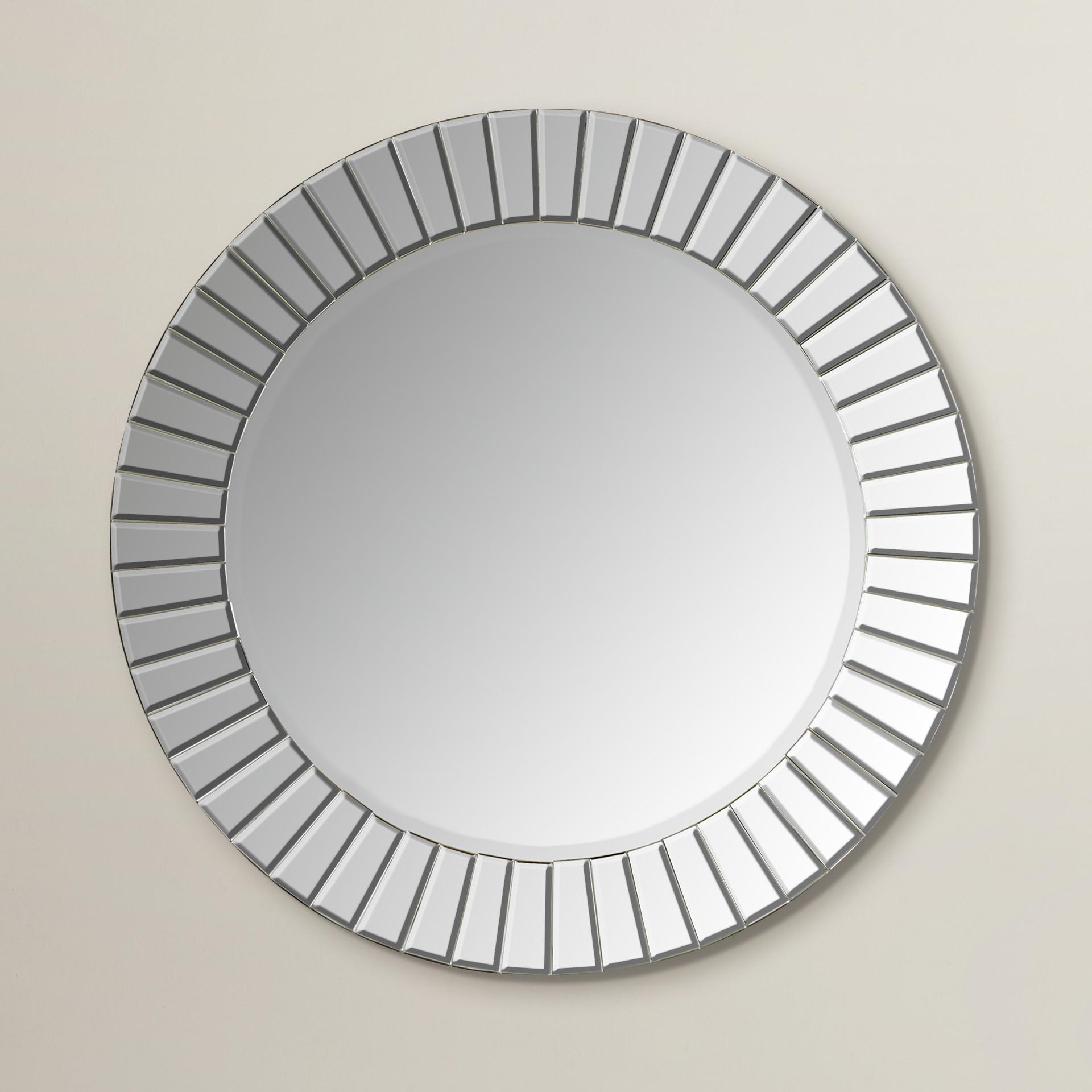 Bathroom: Light Up Your Home With Frameless Beveled Mirror With Frameless Wall Mirrors (Image 2 of 20)