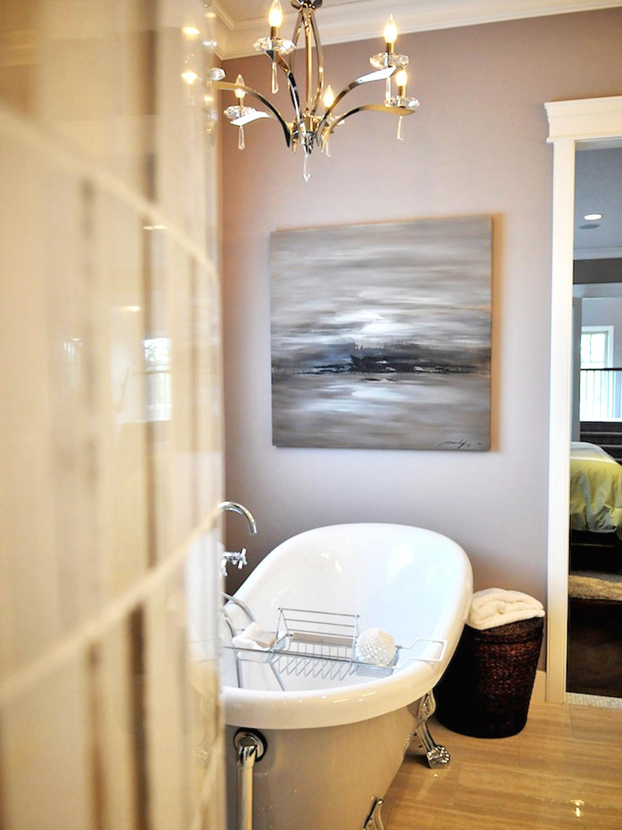 Bathroom Lighting Fixtures Hgtv Regarding Bathroom Lighting Chandeliers (View 7 of 25)