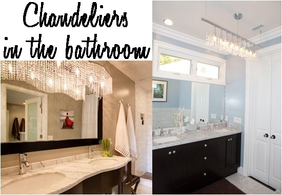 Bathroom Lighting To Update Your Space Home Decorating Blog With Chandelier Bathroom Lighting Fixtures (Image 8 of 25)