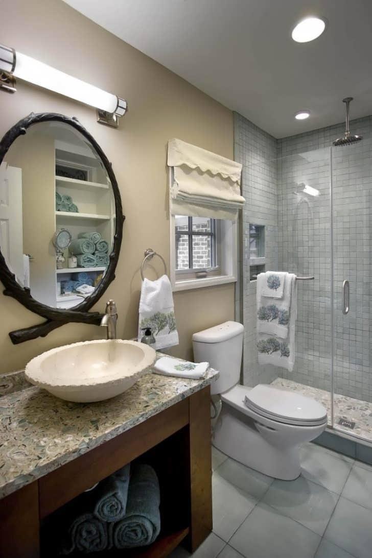 Bathroom : Long Mirror Vanity With Top And Mirror Tilting Vanity Regarding Tall Venetian Mirror (Image 1 of 20)