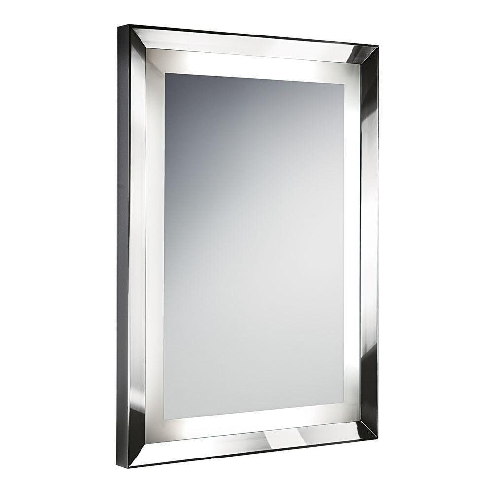 Bathroom Mirror Frames | Decor References In Chrome Wall Mirrors (Image 1 of 20)