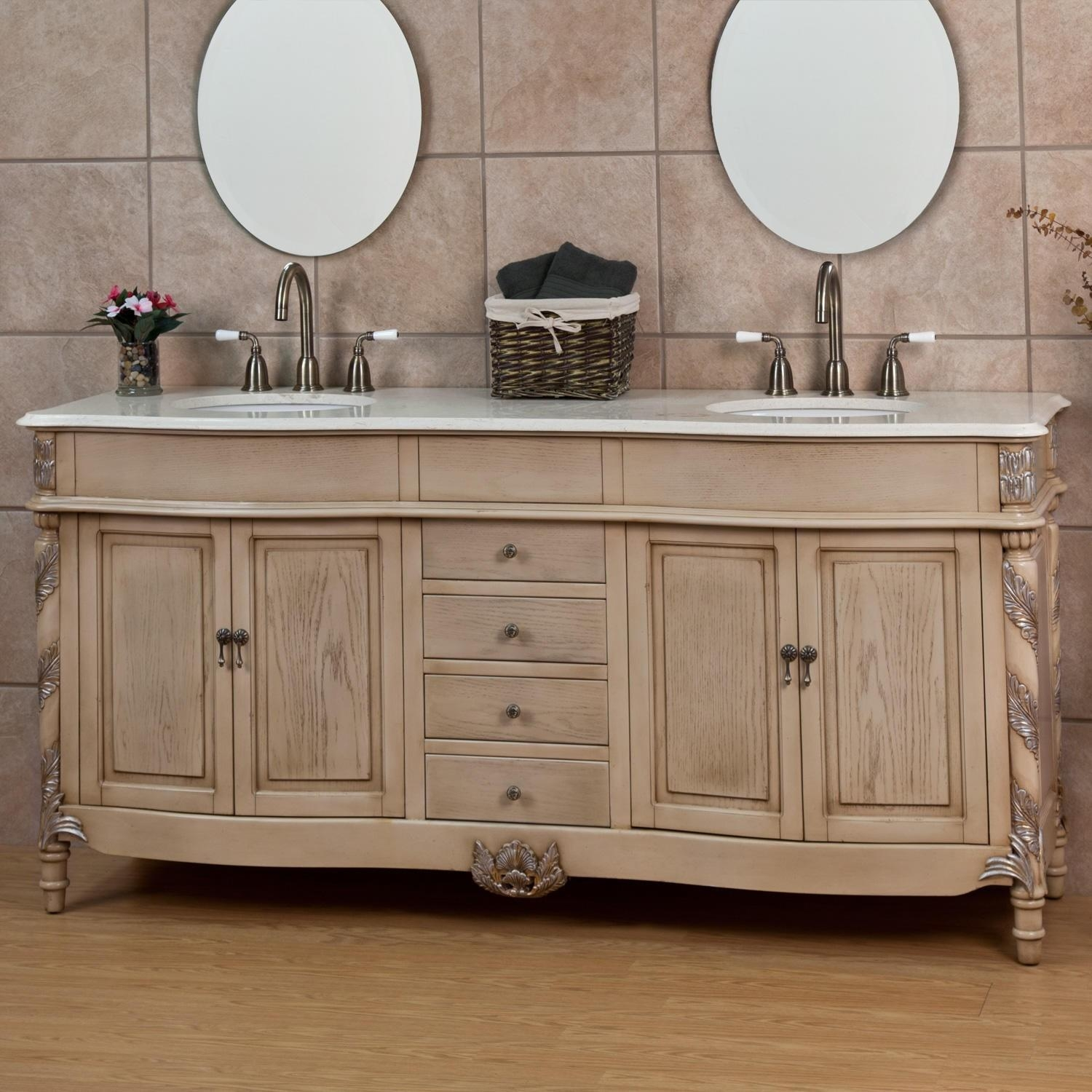bathroom mirrors ideas with vanity 20 inspirations antique white oval mirror mirror ideas 23014
