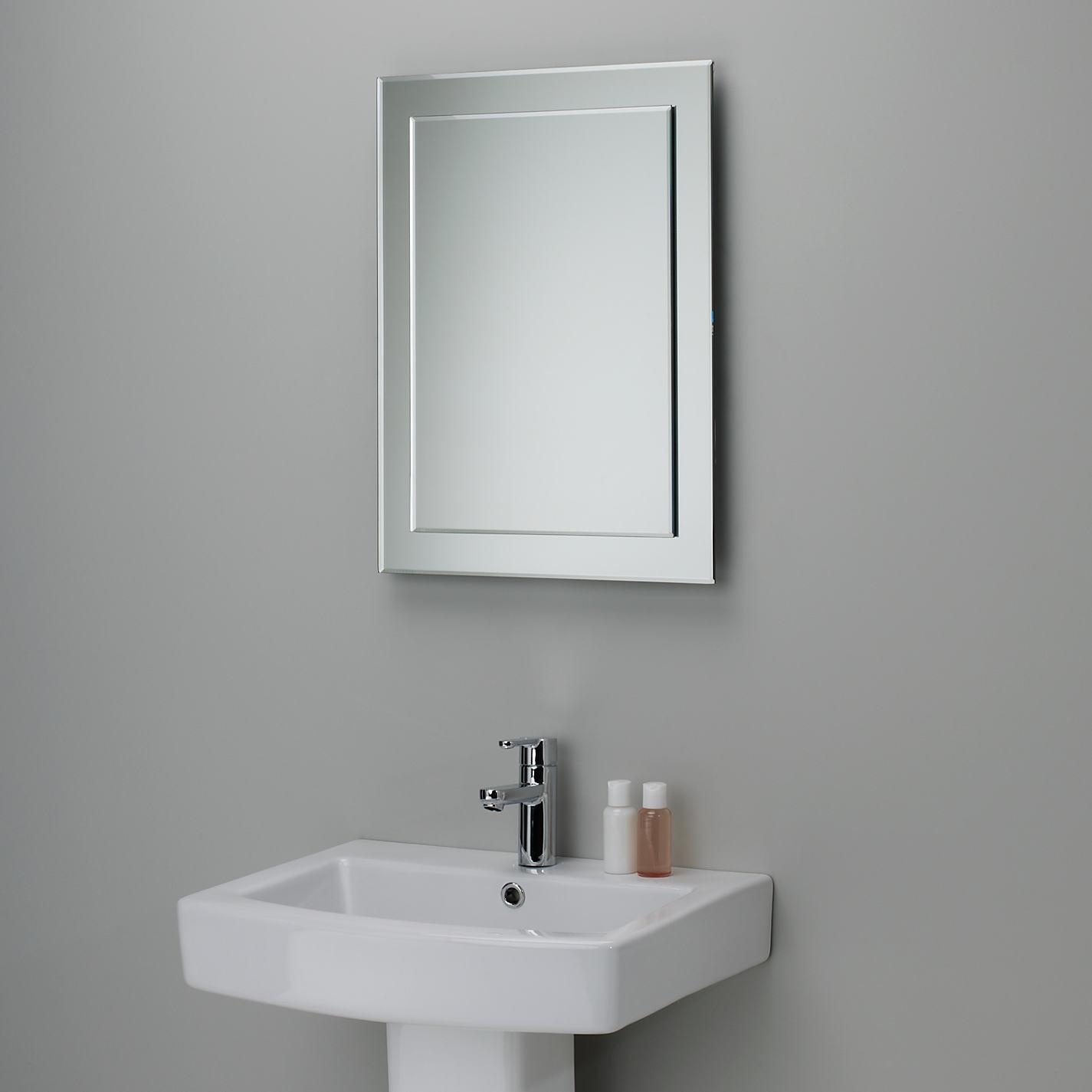 Bathroom Mirrors With Also A Bevelled Mirror With Also A Best Pertaining To Bevelled Mirrors (Image 5 of 20)