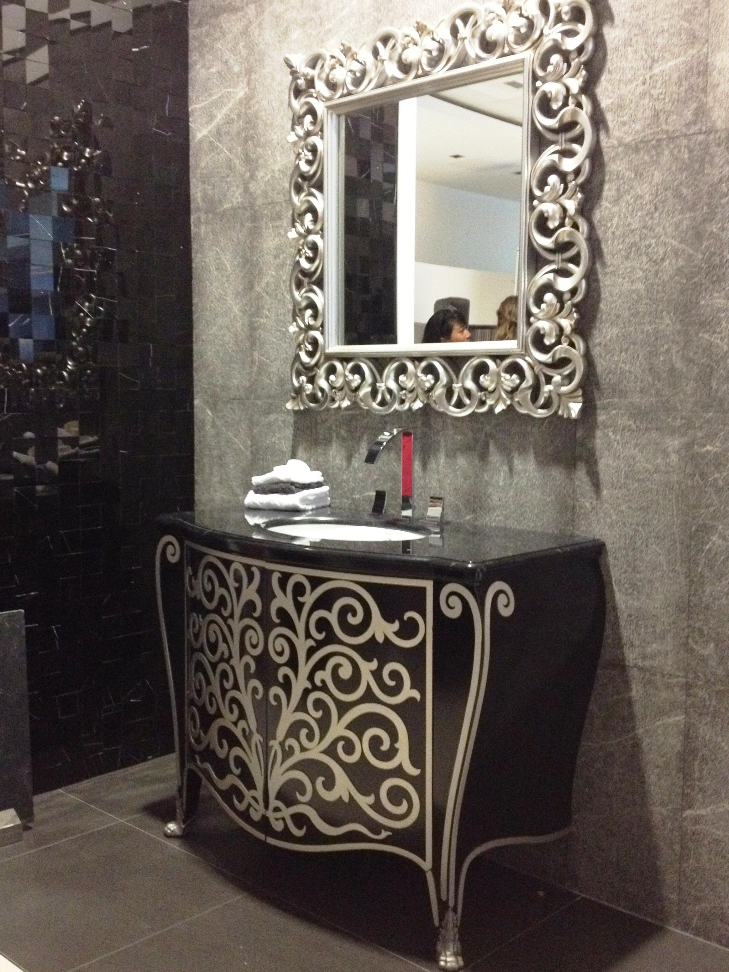 Bathroom Mirrors Wrought Iron | Home Within Wrought Iron Bathroom Mirrors (Image 5 of 20)