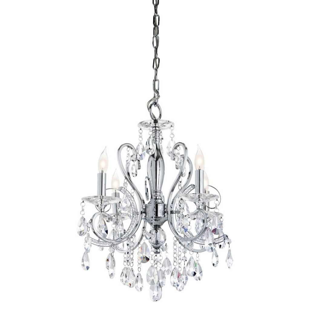 Bathroom The Best Design Ideas For Bathroom Chandeliers Within Mini Chandelier Bathroom Lighting (View 14 of 25)