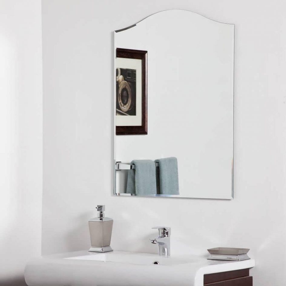 Bathroom : Vanity Mirrors For Bathroom Wall Mirrors For Bathrooms With Regard To Large Illuminated Mirror (Image 6 of 20)