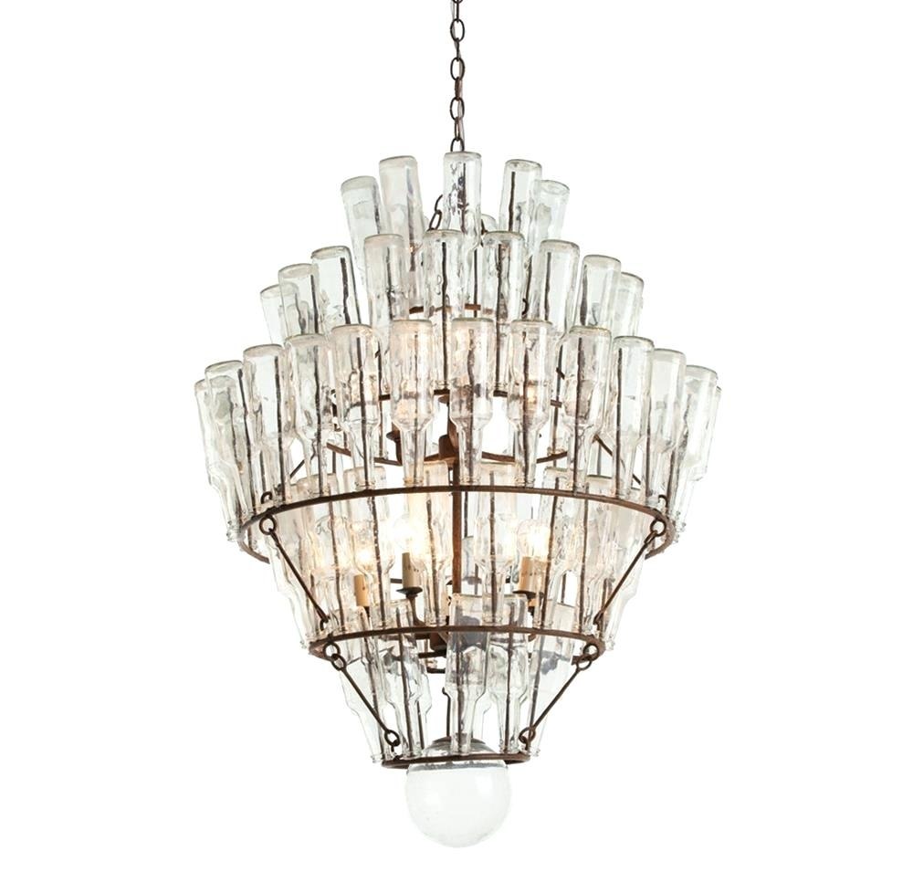 Beaded Chandelier Lighting Kitchen Using Wrought Iron Chandelier Pertaining To Small Gypsy Chandeliers (Image 6 of 25)