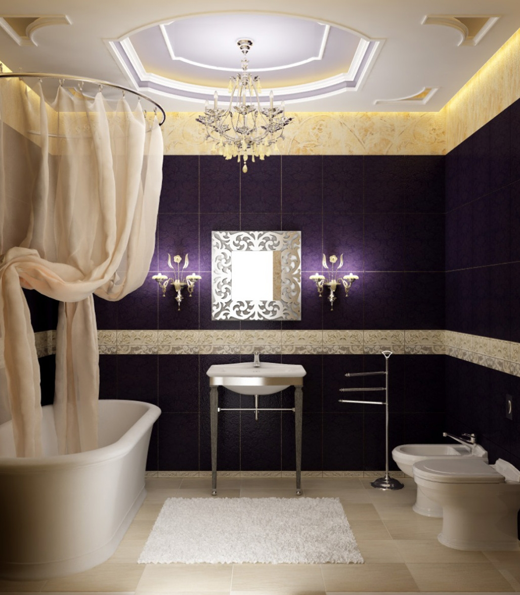 Beautiful Bathroom Ceiling Lights Home Design John With Regard To Chandelier Bathroom Ceiling Lights (Image 14 of 25)