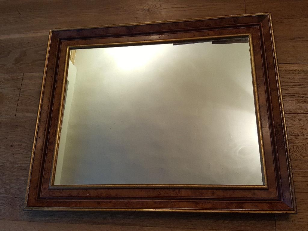 Beautiful Gilt Edged Wall Mirror | In Bury St Edmunds, Suffolk With Gilt Edged Mirror (Image 7 of 20)