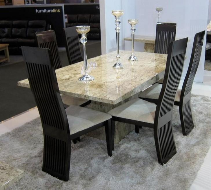 Beautiful Ideas Solid Marble Dining Table Homely Glass And Marble Intended For Solid Marble Dining Tables (View 7 of 20)