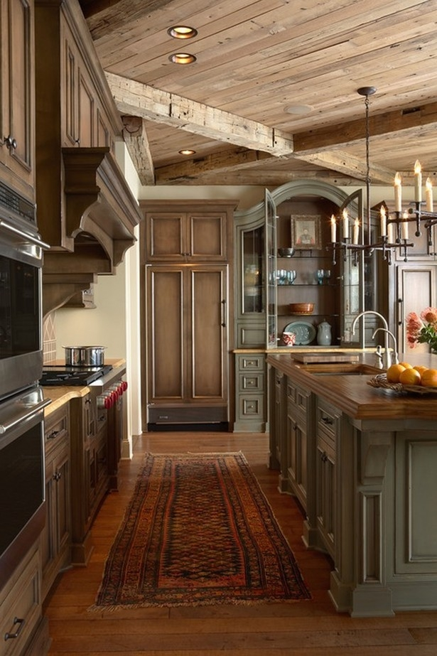 Beautiful Rustic Kitchen Decor Kitchen Rustic Italian Kitchen Within Small Rustic Kitchen Chandeliers (Image 3 of 25)