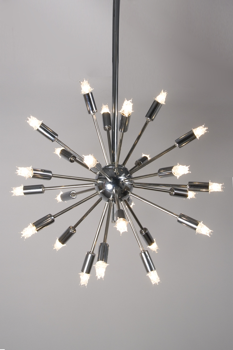 Bed Bath Small Chandeliers And Sputnik Chandelier With Regard To Chrome Sputnik Chandeliers (Image 1 of 25)