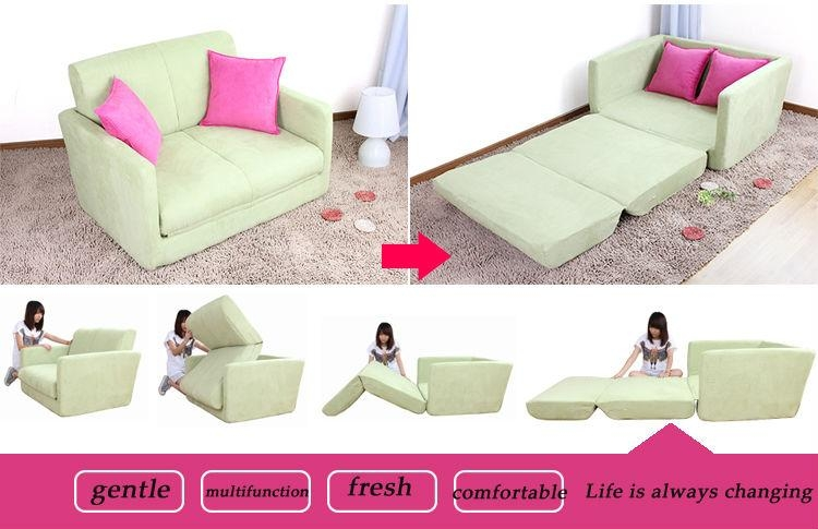 Bedroom Awesome Unique Fold Out Chair Bed For Kids Folding Sofa Inside Kid Flip Open Sofa Beds (Image 4 of 20)