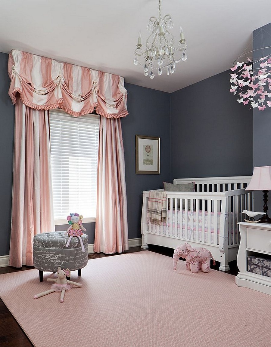 Bedroom Classic Crystal Chandelier For Ba Nursery With White Intended For Crystal Chandeliers For Baby Girl Room (Image 10 of 25)