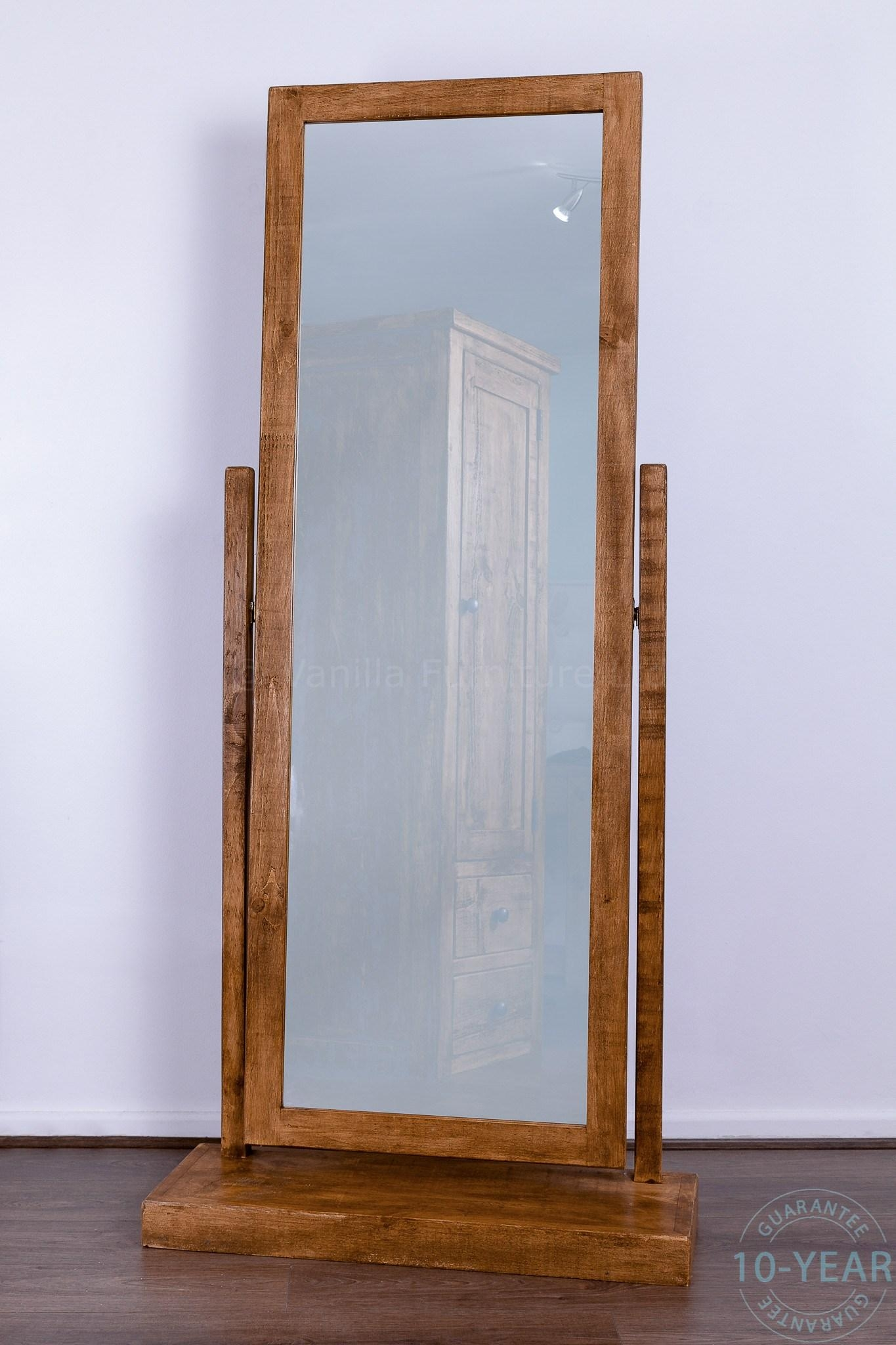 Bedroom Furniture : Corner Mirror White Floor Mirror Antique Wall Pertaining To Antique Full Length Wall Mirror (Image 4 of 20)