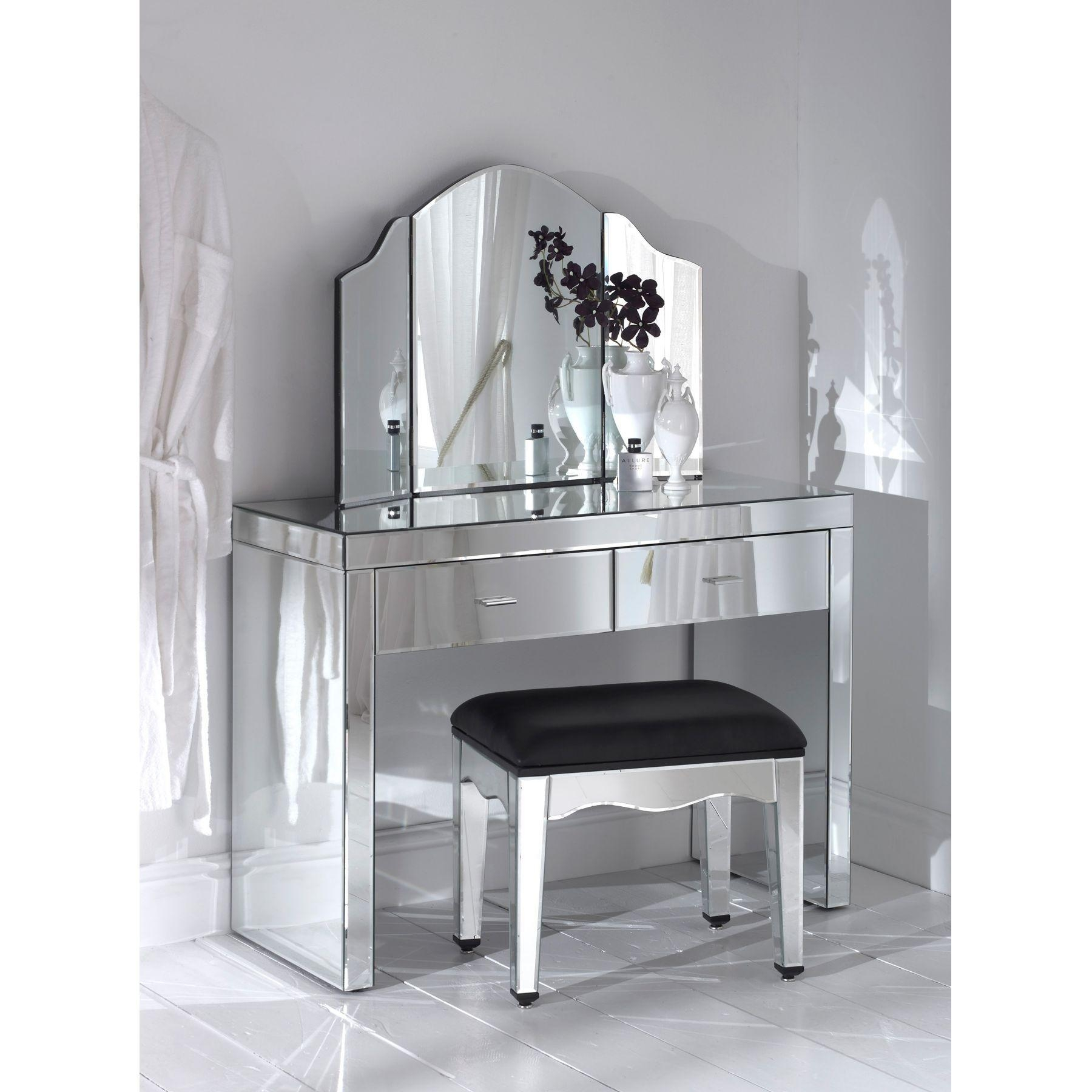Bedroom Furniture : Narrow Dressing Table Black Dressing Table Regarding Black Dressing Mirror (Image 3 of 20)