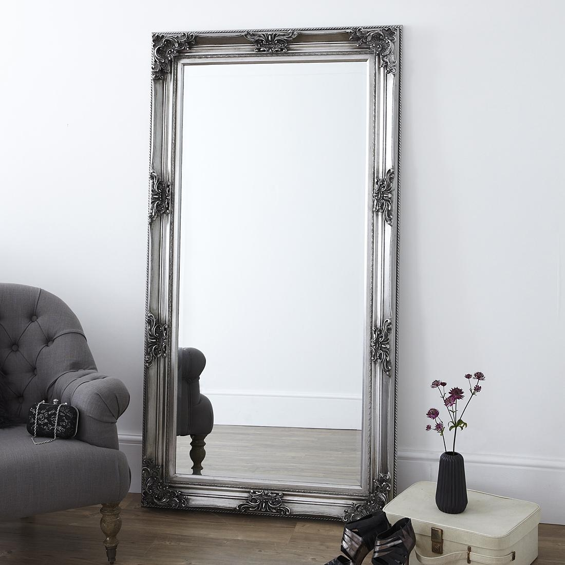 Bedroom Furniture Sets : Large Frameless Mirror Metal Mirror Panel In Extra Large Full Length Mirror (Image 2 of 20)
