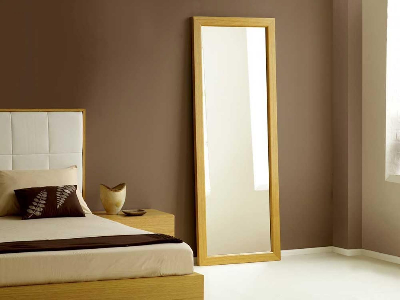Bedroom Furniture Sets : Modern Wall Mirrors Square Mirror Oval Intended For Long Black Wall Mirror (Image 3 of 20)
