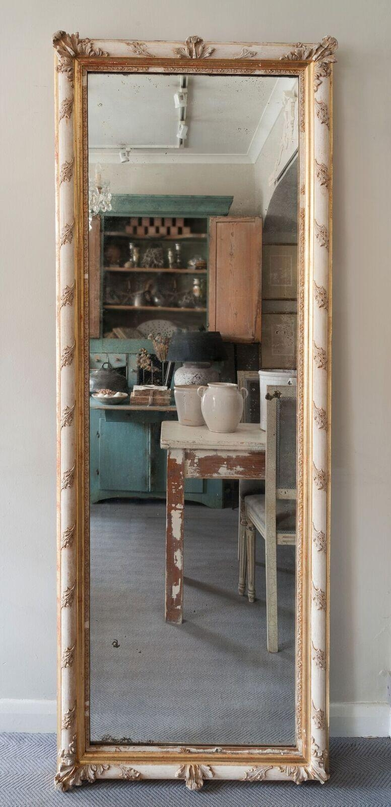 Bedroom Furniture Sets : Shabby Chic Mirror Table Mirror Frameless Within Black Shabby Chic Mirror (Image 5 of 20)