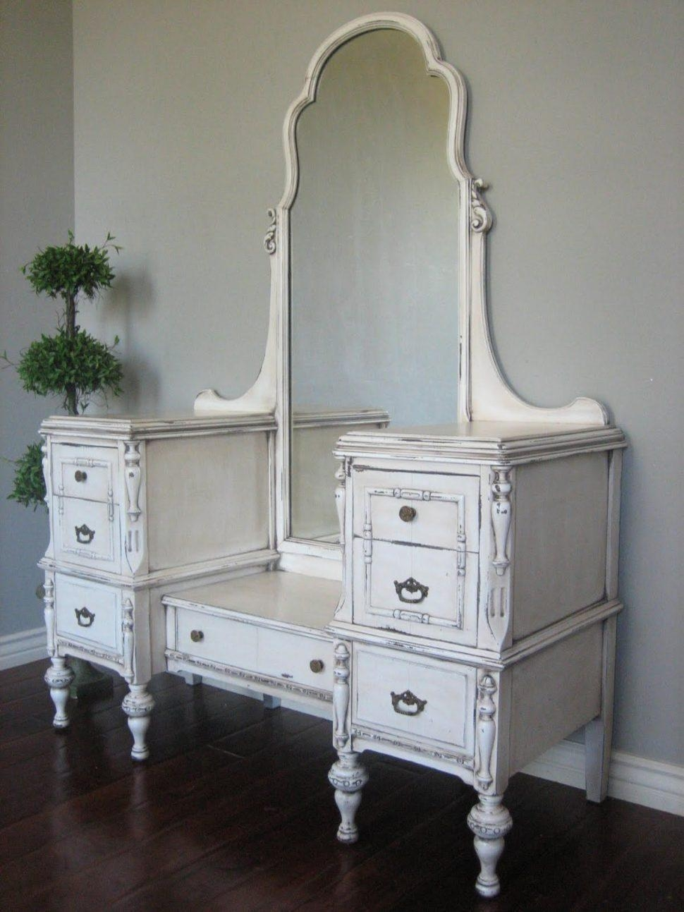 Shabby Chic White Mirrors Mirror Ideas