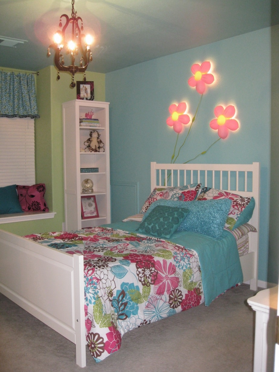 Bedroom Narrow With Turquoise And Pink Accent Plus White Pictures In Turquoise And Pink Chandeliers (View 22 of 25)