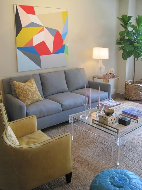 Beige 3 Cushion Sofa Design Ideas With Regard To Blue Gray Sofas (Image 3 of 20)