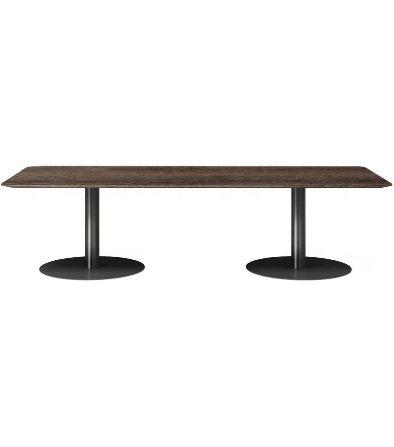 Bellagio Dining Pewter Minotti Table – Milia Shop With Bellagio Dining Tables (Image 3 of 20)