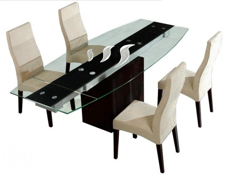 Bellagio Dining Table – Contemporary Dining – Dining Room Star In Bellagio Dining Tables (Image 4 of 20)