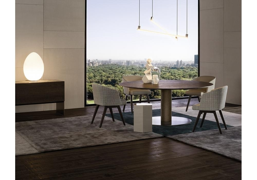 Bellagio Dining Wood Minotti Table – Milia Shop With Bellagio Dining Tables (Image 9 of 20)