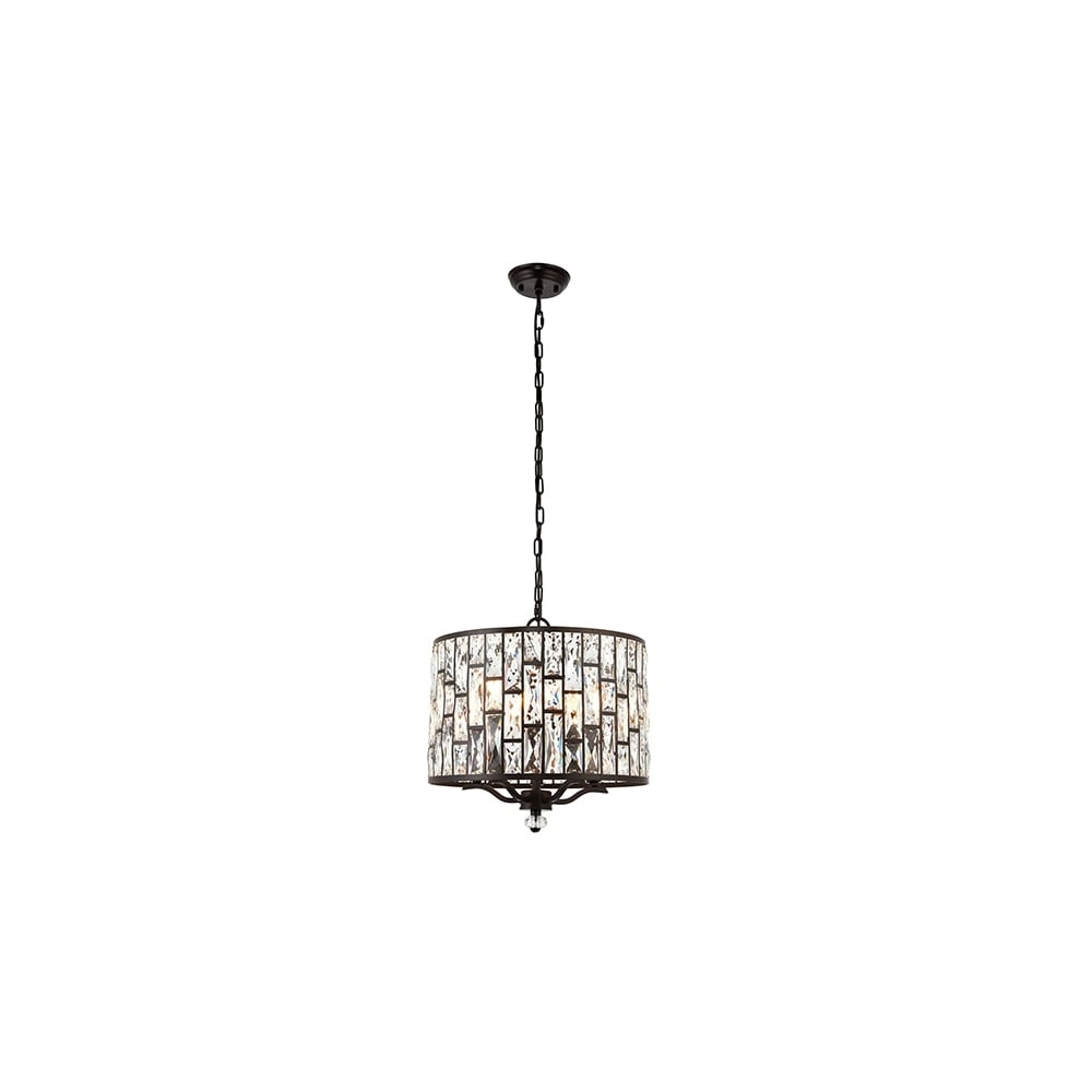 Belle 69390 Large Ceiling Light At Lovelightscouk Intended For Endon Lighting Chandeliers (Image 1 of 25)