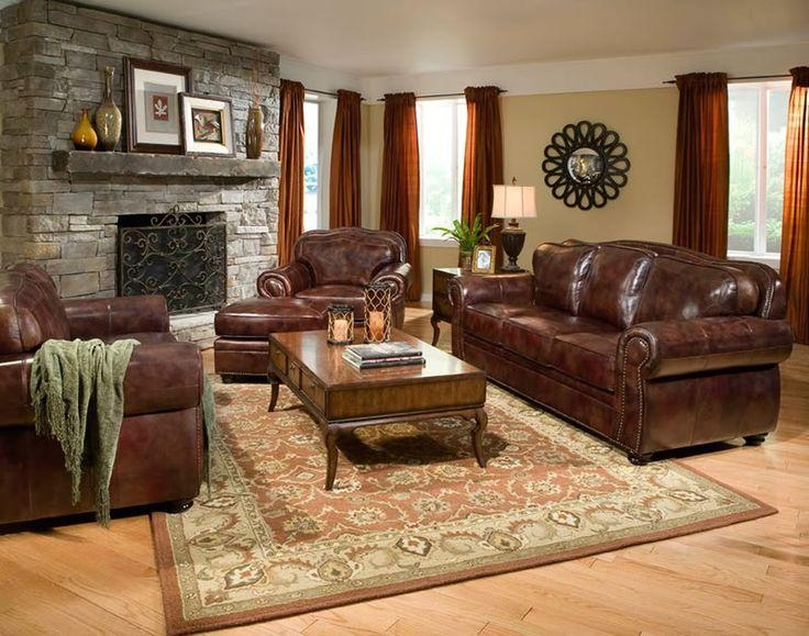 Best 10+ Brown Leather Couches Ideas On Pinterest | Leather Couch Intended For Burgundy Leather Sofa Sets (Image 4 of 20)