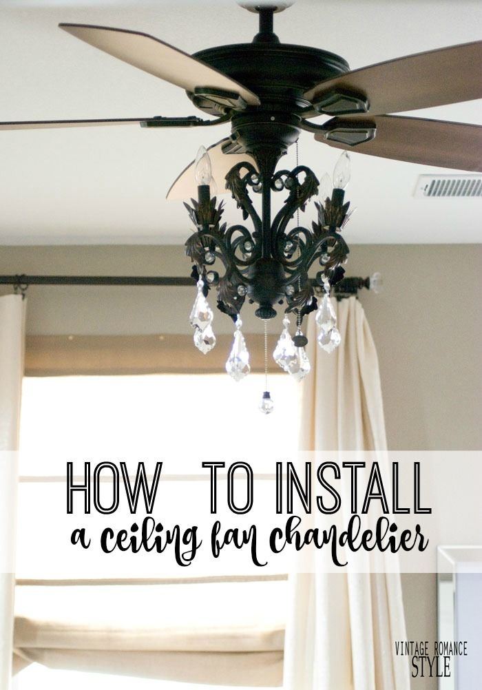 Best 10 Ceiling Fan Light Kits Ideas On Pinterest Fan Lights Intended For Chandelier Light Fixture For Ceiling Fan (Image 8 of 25)
