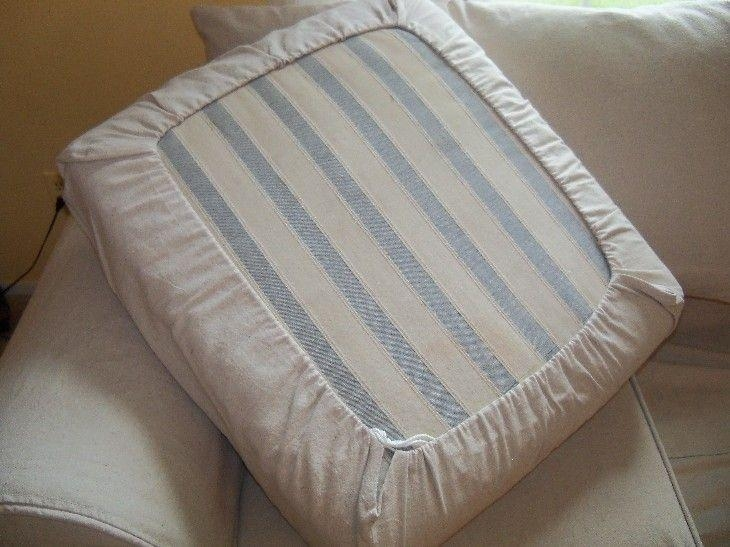 Best 10+ Couch Cushion Covers Ideas On Pinterest | Couch Covers Pertaining To Sofa Cushion Covers (Image 2 of 20)