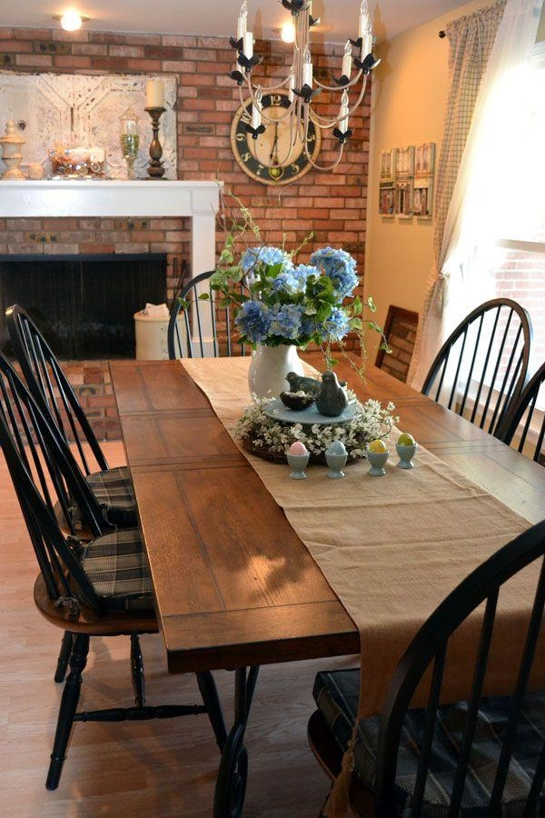 Best 10+ Country Dining Tables Ideas On Pinterest | Mismatched Inside Country Dining Tables (Image 2 of 20)
