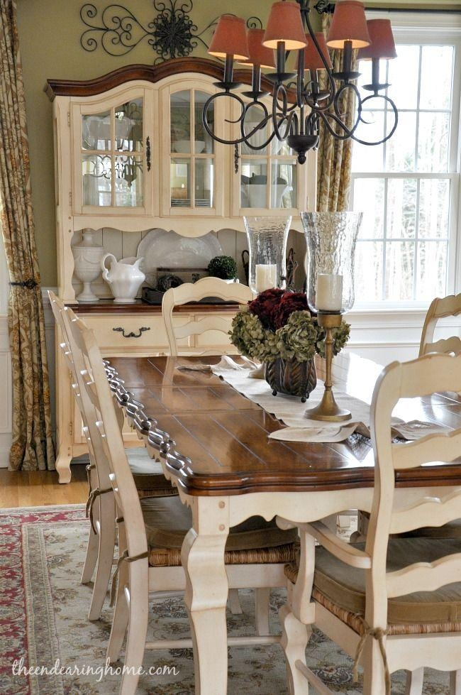 Best 10+ Country Dining Tables Ideas On Pinterest | Mismatched Throughout Country Dining Tables (Image 4 of 20)