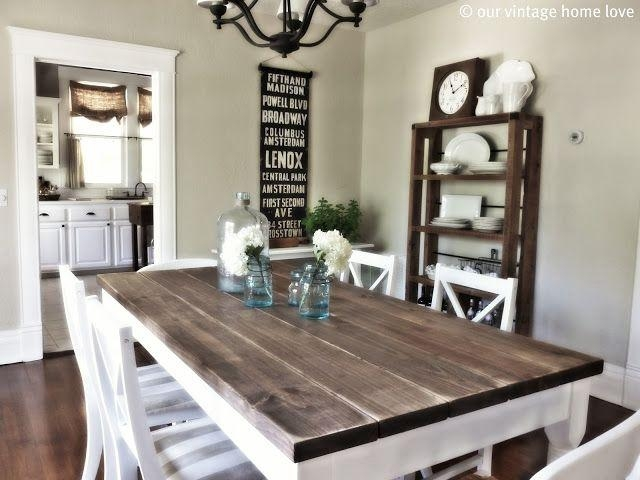 Best 10+ Country Dining Tables Ideas On Pinterest | Mismatched Throughout Country Dining Tables (Image 5 of 20)