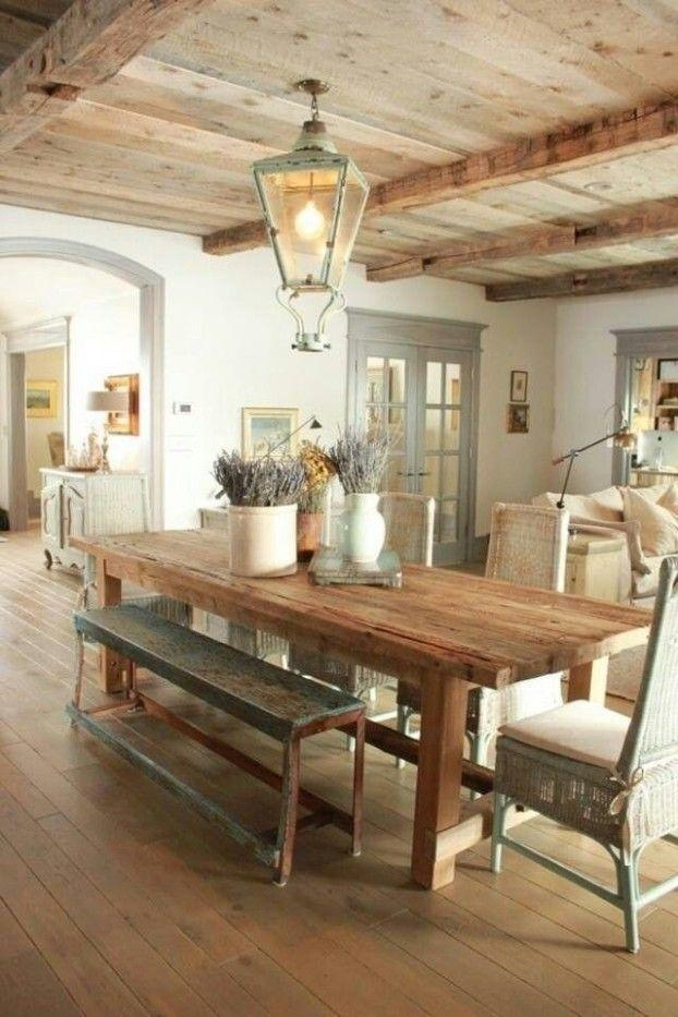 Best 10+ Country Dining Tables Ideas On Pinterest | Mismatched Throughout Country Dining Tables (Photo 1 of 20)