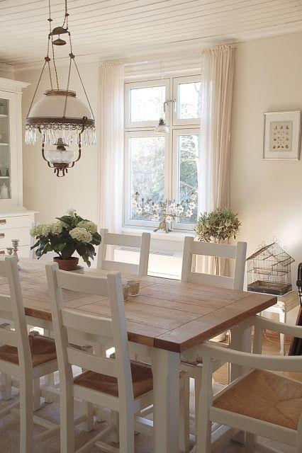 Best 10+ Country Dining Tables Ideas On Pinterest | Mismatched With Regard To Country Dining Tables (Image 6 of 20)