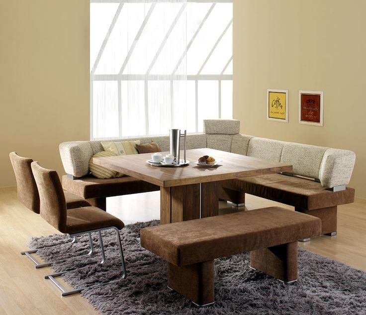 Best 10+ Dining Set With Bench Ideas On Pinterest | Wood Tables With Small Dining Tables And Bench Sets (Image 5 of 20)