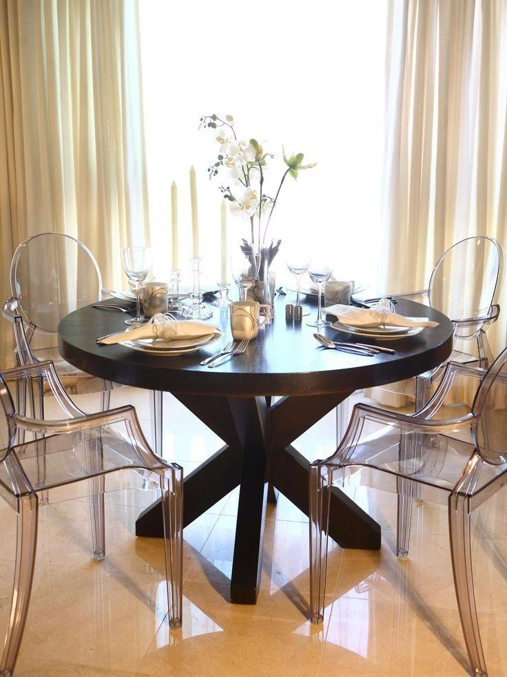 Best 10+ Ghost Chairs Dining Ideas On Pinterest | Ghost Chairs Inside Clear Plastic Dining Tables (View 3 of 20)