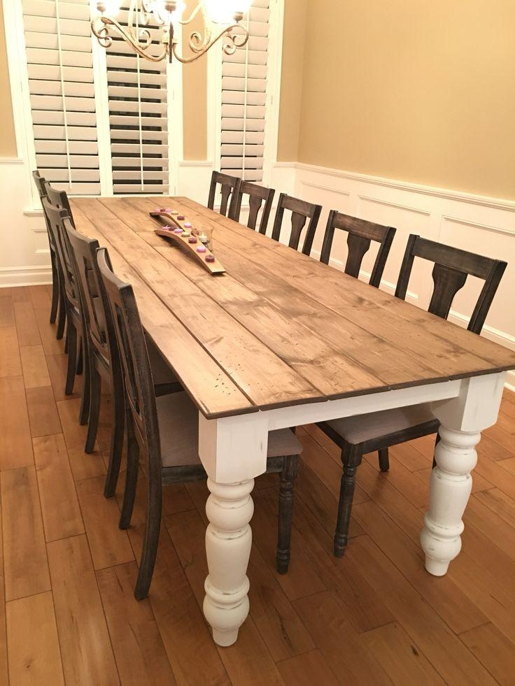 Best 10+ Harvest Tables Ideas On Pinterest | Distressed Dining Throughout Dining Tables With Large Legs (Image 3 of 20)