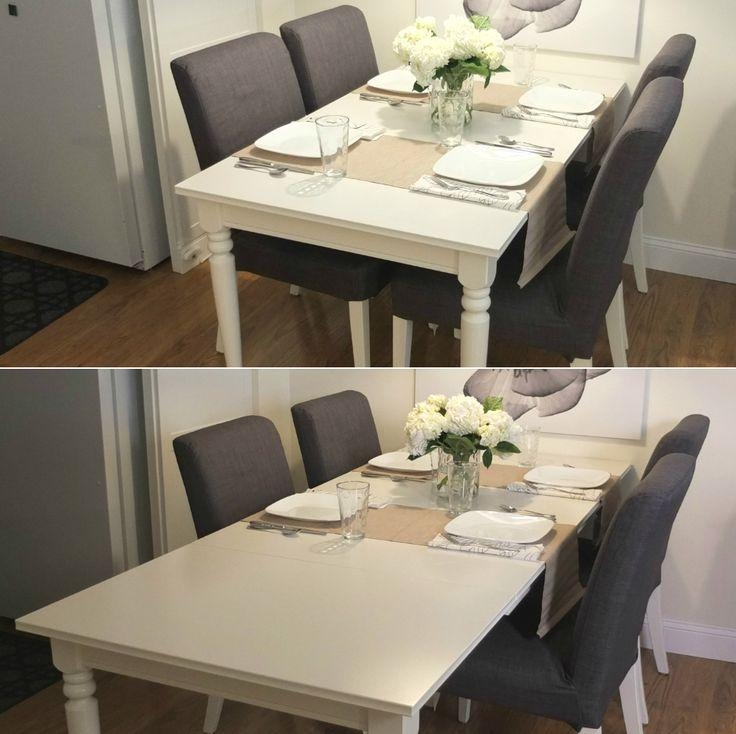 Best 10+ Ikea Dining Table Ideas On Pinterest | Kitchen Chairs Pertaining To 4 Seater Extendable Dining Tables (Image 7 of 20)